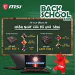 Back to School 2019 MSI